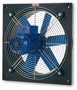 Aksijalni ventilatori sa ramom PLATE-M